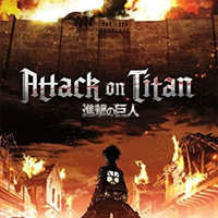 Attack On Titan - Fire Poster 22 x 34in