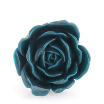 Zad Extreme Rose Blue Rose Ring