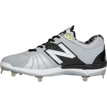 CREYONV new balance 3000v2 metal cleats low cut gray black