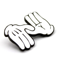 The ZD Mickey Hands Pin