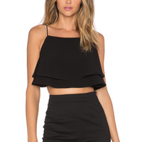 Finders Keepers Move On Up Top in Black
