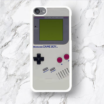 iPod Touch 6 Game Boy Design Phone Case, Retro Gameboy Console for geeks, Funny ipod 6th Gen 6G iTouch 6 5th 4 Cover, Hilarious for Kidult