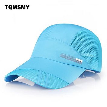 Autumn&Summer hats for women Snapback baseball caps men Casual sun hat women Quick Dry Breathable mesh  sun cap bone gorras