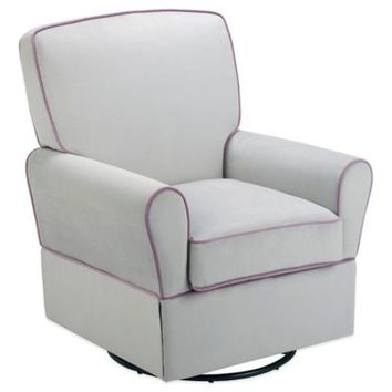 Bebe Confort® Milan Swivel Glider in Ennis Grey/Orchid