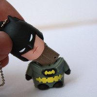 SALE30-70%OFF: 4GB Usb Super Hero Batman usb Flash Drive 4Gb , Cute Usb Flash Drive , Accessories , usb, Comic usb,