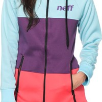 Neff Daily Stripe Shredder Tech Fleece Jacket