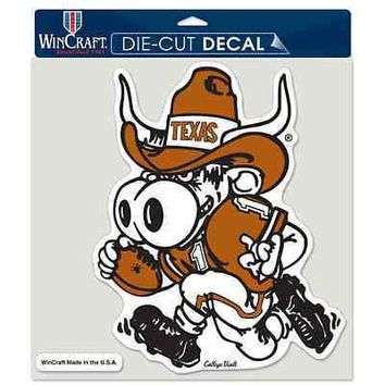 "TEXAS LONGHORNS VAULT LOGO 8""X8"" COLOR DIE CUT DECAL BRAND NEW WINCRAFT"