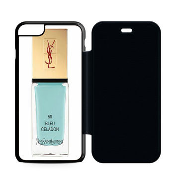 Yves Saint Laurent Bleu Celadon Flip Case iPhone 6 | iPhone 6S | iPhone 6S Plus  Case