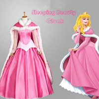 Movie Sleeping Beauty Princess Aurora Luxury Fancy Adult Dress Cosplay Costume