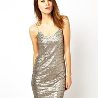 ASOS Sequin Cami Mini Dress