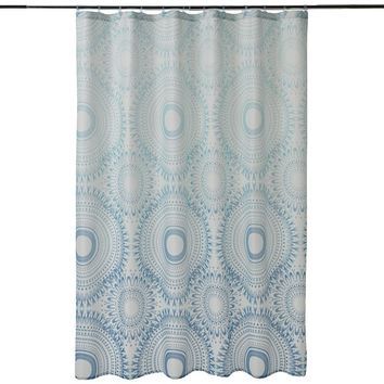 SONOMA life + style Berkley Ombre Medallion Fabric Shower Curtain