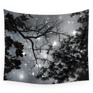 Society6 Starry Night Sky Wall Tapestry