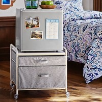 SuperCool Fridge Cart, Grey Minidot