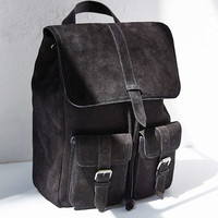 Suede Backpack - Urban Outfitters