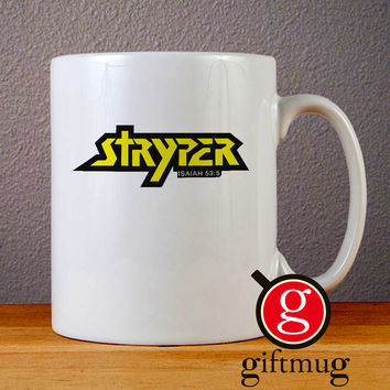 Stryper Logo Ceramic Coffee Mugs