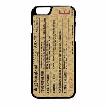 Disneyland E Ticket Disney iPhone 6 Plus Case