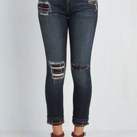 80s Long Skinny Hip to the Grove Jeans