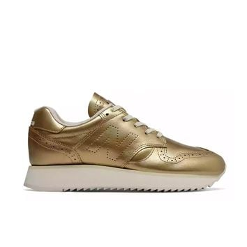 New Balance - Women's 520 Platform (WL520MD) - Metallic Gold with Moonbeam