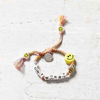 Venessa Arizaga Dont Worry Bee Happy Bracelet