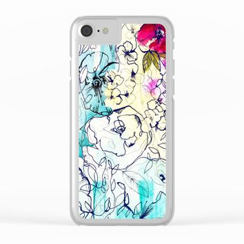 Spring Haze Clear iPhone Case by Holly Sharpe