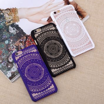 Vintage Lace Sunflower Case for iPhone se 7 7Plus & iPhone se 5s & iPhone 6 6s Plus + Gift Box