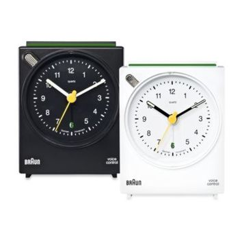 Braun® Voice-Activated Alarm Clock