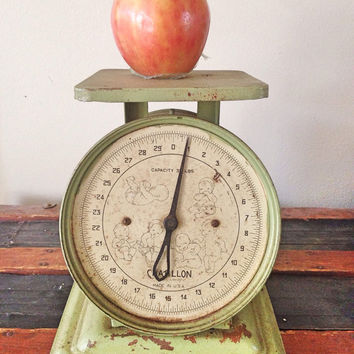 Chatillon Kitchen Scale / Industrial Pedestal Scale / Household Baby Scale