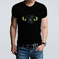 How to train your dragon 2 toothless eyes_Dragons Tshirt_Awesome Tshirt_Dreamwork_From SAWANK