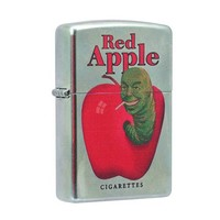 Pulp Fiction Red Apple Zippo Lighter - Diamond Select - Pulp Fiction - Lighters at Entertainment Earth