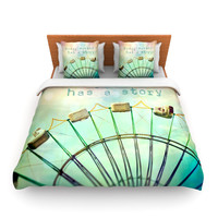 "Sylvia Cook ""Every Summer Has a Story"" Lightweight Duvet Cover"