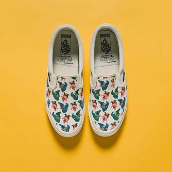Vans Vault OG Slip-On LX X SpongeBob Canvas Shoes