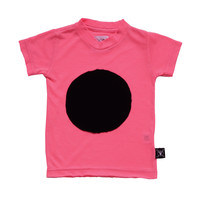 Nununu Patch T-Shirt in Neon Pink - NU0513 - only sz 6 left