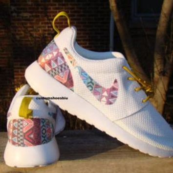 Shop Customize Nike Roshe Women White on Wanelo bbccc669c