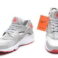 NH07 - Nike Air Huarache (Grey/White/Orange)