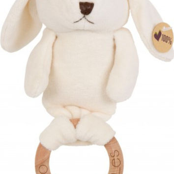 Organic Bunny Sebastian Wooden Teether