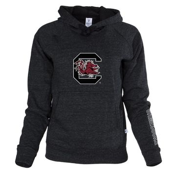 Official NCAA University of South Carolina Fighting Gamecocks USC COCKY SC Women's Buttersoft Adult Hoodie - Unisex, Triblend