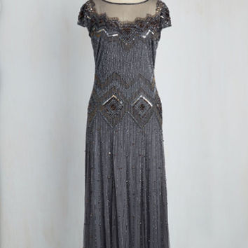 Spark Inspiration Dress in Slate Blue