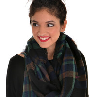 Keep Me Close Scarf - Navy