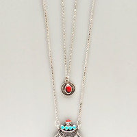 Antiqued Silk Road Necklace