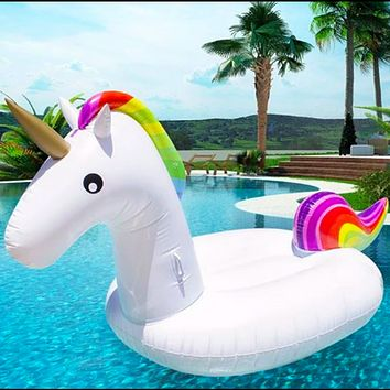 Giant Inflatable Unicorn Pool Float (Ships From USA)