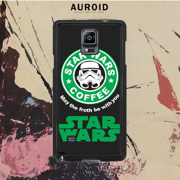 Star Wars Coffee Samsung Galaxy Note 4 Case Auroid
