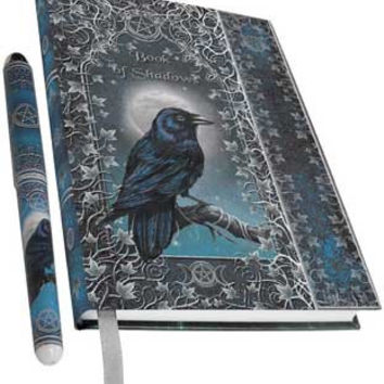 Book of Shadows with Pen journal