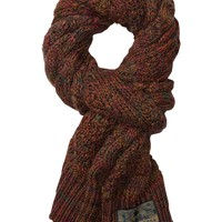 Cable Knitted Flame Yarn Scarf - Scotch & Soda