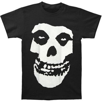 Misfits Men's  Skull Logo Regular Mens T T-shirt Black