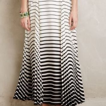 Eva Franco Casaval Maxi Skirt in Black & White Size: