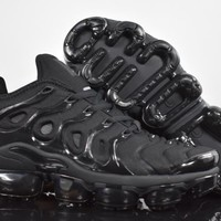 2018 nike air max plus tn vm triple black vapormax vapor max men fashion running sneakers sport shoes