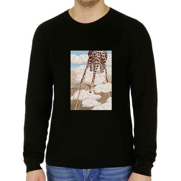 Cute Lovable Vintage Classic Zoo Animal Calf Giraffe - Sweater for Man and Woman, S / M / L / XL / 2XL **