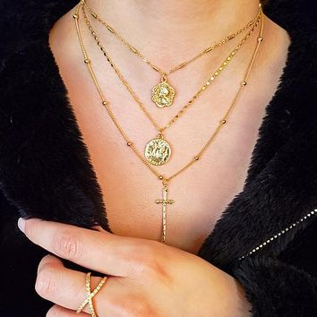 Vintage Coin Necklaces III