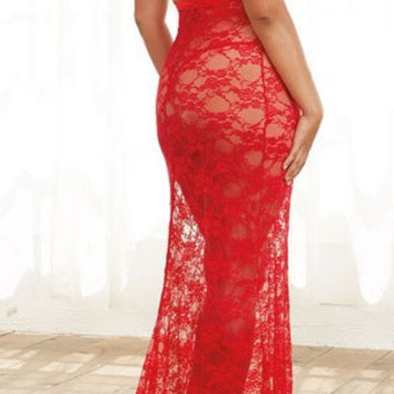 "Plus Size ""Isabella"" Gown"