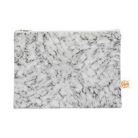 """Will Wild """"Marble"""" White Gray Everything Bag"""